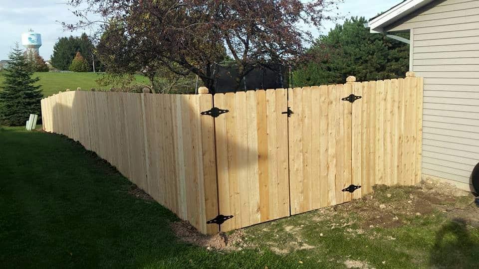 West Bend Fencing Installation Cedar Privacy Fence