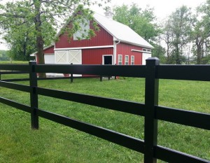 fencing styles - Chariot Post & Rail Fence Picture