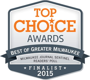 Milwaukee Journal Top Choice 2015 Finalist Badge